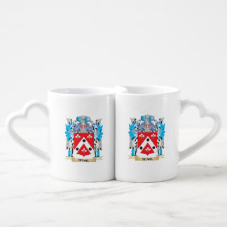 Searl Coat of Arms - Family Crest Couples' Coffee Mug Set