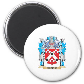 Searle Coat of Arms - Family Crest 2 Inch Round Magnet