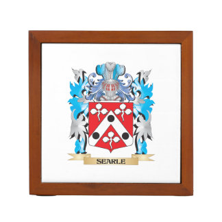 Searle Coat of Arms - Family Crest Pencil Holder