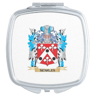 Searles Coat of Arms - Family Crest Vanity Mirror