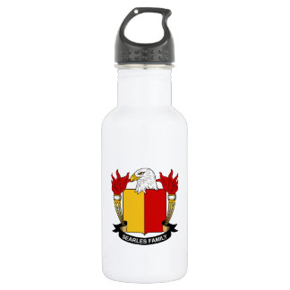 Searles Family Crest 18oz Water Bottle