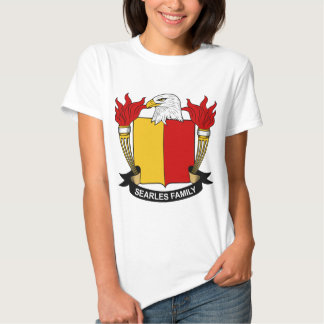 Searles Family Crest T Shirts