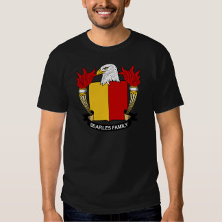 Searles Family Crest Tshirts