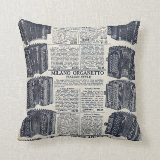 Sears Magazine Advertisement Throw Pillows