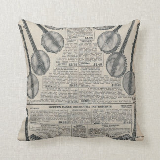 Sear's Magazine Advertisement Throw Pillow