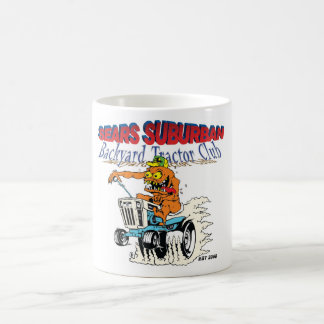 Sears Suburban Backyard Tractor Club in new logo Coffee Mug