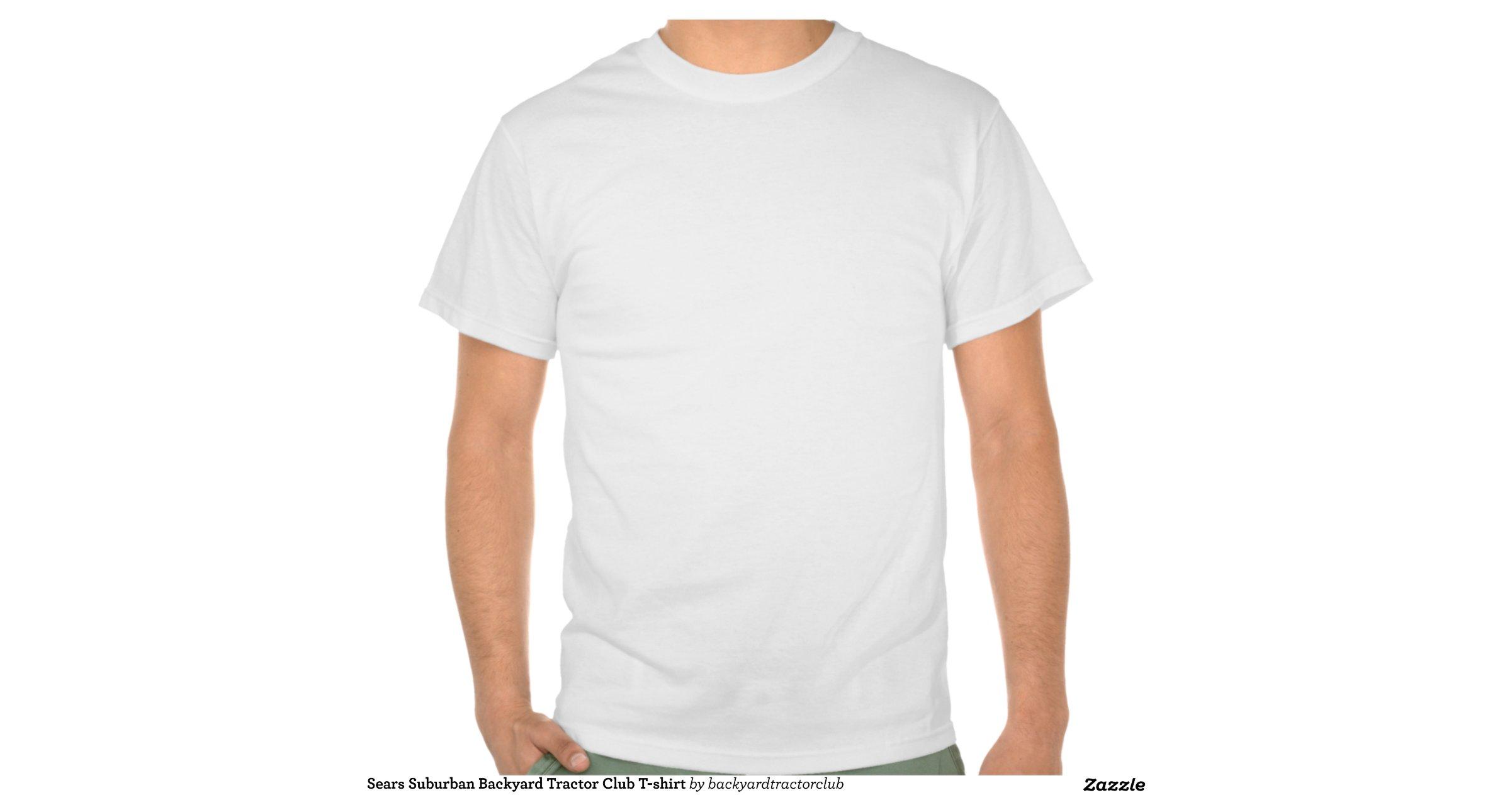 Sears Suburban Backyard Tractor Club T Shirt