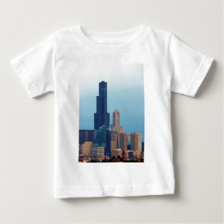 Sears Tower 3 Baby T-Shirt