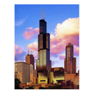 Sears Tower Chicago Postcard