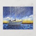 Sea's Lullaby Postcard postcard