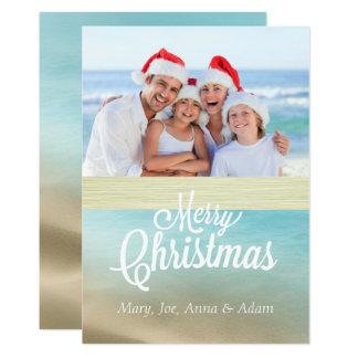 Seas 'n Greetings Christmas Photo Card