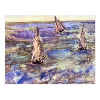 Seascape, 1873 by Edouard Manet Postcard