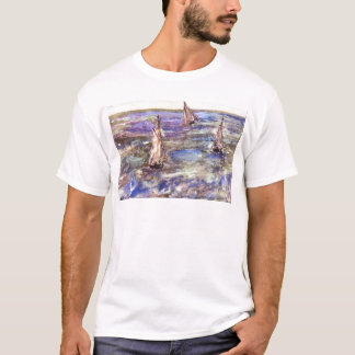 Seascape, 1873 by Edouard Manet T-Shirt