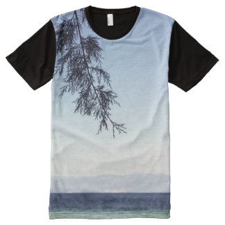 seascape All-Over-Print shirt