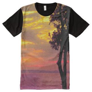 seascape All-Over print shirt