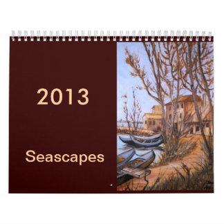 seascape art calendar 2013