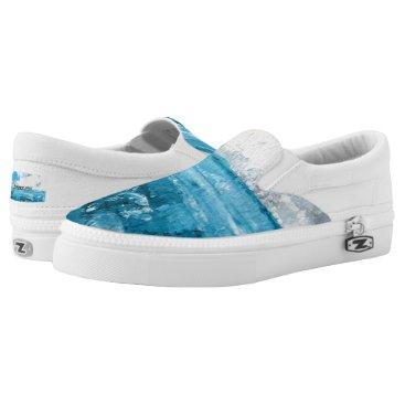 Beach Themed Seascape Artist Designed Unisex Sneakers