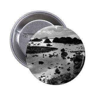 Seascape at Caloura Pinback Button