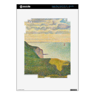 Seascape at Port-en-Bessin, Normandy, 1888 Decal For iPad 3