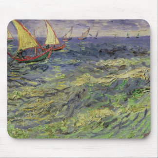 Seascape at Saintes-Maries  1888 Mouse Pad