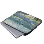 Seascape at Saintes Maries de la Mer by van Gogh Laptop Sleeves