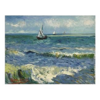 Seascape at Saintes Maries de la Mer by van Gogh Postcard
