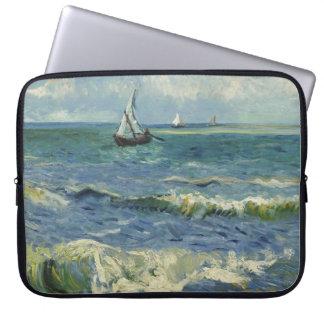 Seascape at Saintes-Maries (F415)Van Gogh Fine Art Computer Sleeve