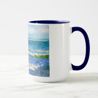 Seascape at Saintes-Maries Vincent Van Gogh Mug