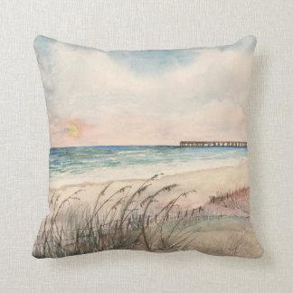 Seascape beach pillow