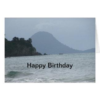 Seascape Birthday Card