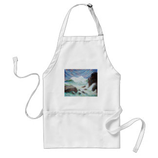 Seascape by Laurie Mitchell LaurevaM Adult Apron