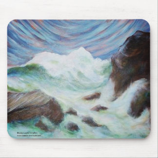 Seascape by Laurie Mitchell LaurevaM Mouse Pad