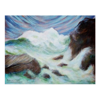 Seascape by Laurie Mitchell LaurevaM Postcard