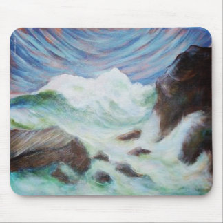 Seascape by Laurie Mitchell Mouse Pad