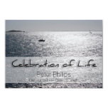 Seascape Celebration of Life Funeral Announcement