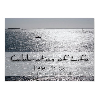 Seascape Celebration of Life Funeral Announcement