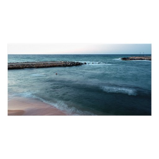 Seascape Custom Photo Card