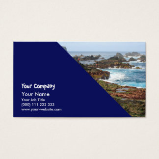 Seascape from Azores islands Business Card