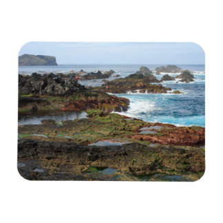 Seascape from Azores islands Rectangular Photo Magnet