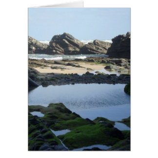 Seascape greeting card, for special ocasion. card