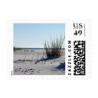 Seascape in Florida Postage