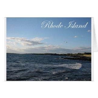 Seascape in Rhode Island Card