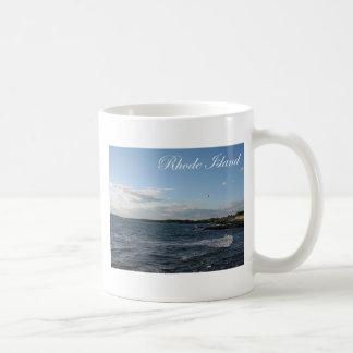 Seascape in Rhode Island Classic White Coffee Mug