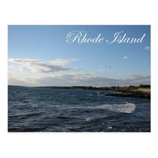 Seascape in Rhode Island Post Card