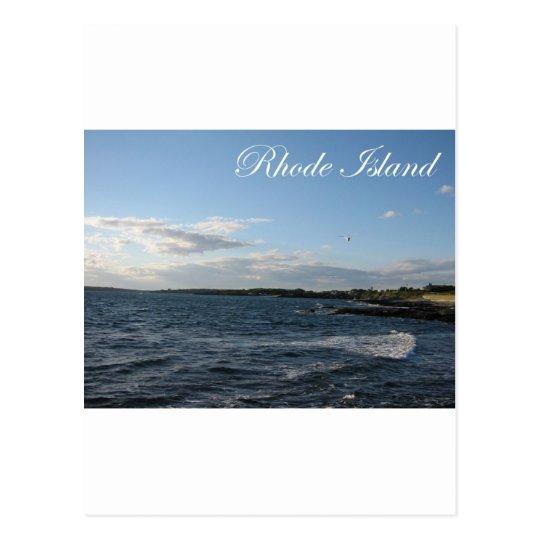 Seascape in Rhode Island Postcard