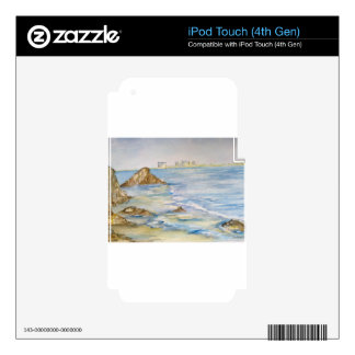 Seascape iPod Touch 4G Decal