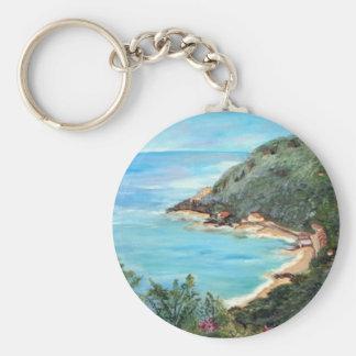 Seascape Key Chain