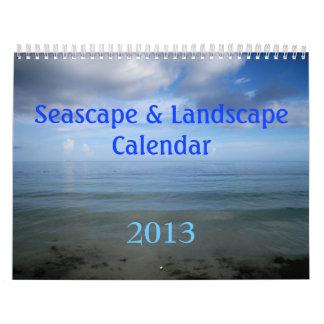 Seascape & Landscape Calendar 2013