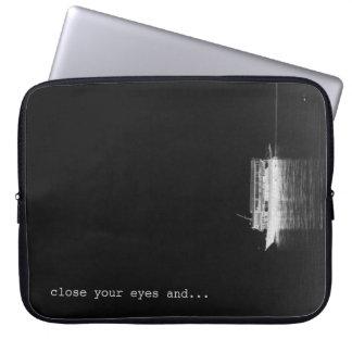 seascape laptop sleeve