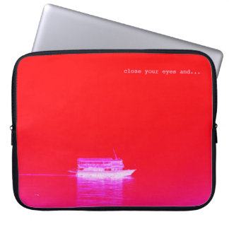seascape computer sleeve